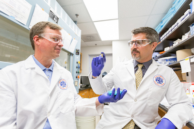 Lance McMahon and Jay McLaughlin, Pharmacodynamics professors Pharmacy